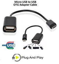 Micro USB Cable Macho a Hembra USB Host OTG Adaptador Android Tablet PC y teléfonos