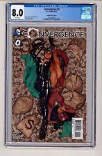 DC's Convergence #0 Adam Hughes Catwoman Variant CGC 8.0