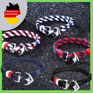 Anker Surfer Armband Herren Damen Unisex Armschmuck Bracelet see meer