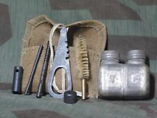 ORIGINAL MOSIN NAGANT RIFLE CLEANING KIT WITH EARLY SQUARE BOTTLE