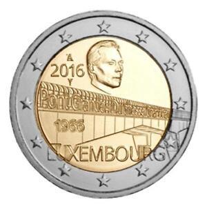 """2 euro commémorative Luxembourg 2016 """" Charlotte """"  NEUVE UNC"""