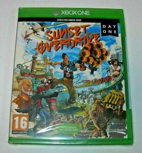 Sunset Overdrive Xbox One edición española precintado