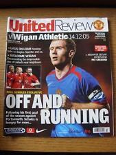 14/12/2005 Manchester United v Wigan Athletic (pliegue luz).