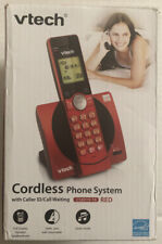 VTech 1-Handset Home Office Cordless Phone Digital Answering System ID Waiting