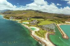 Ko Olina Resort Oahu 17 Miles Northwest of Honolulu Hawaii, Beach etc - Postcard