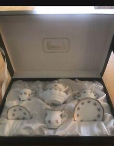 Harrods Vintage Miniature Tea Set