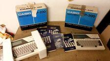 Casio FP-200 Emulator box e manuali