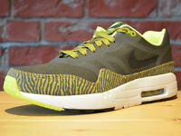 Nike Air Max 1 Premium Tape SZ 9 Black Parachute Gold Summit White 599514-007
