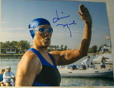 DIANA NYAD SIGNED AUTOGRAPH FIRST EVER DISTANCE SWIM VERY RARE 8X10 PHOTO COA