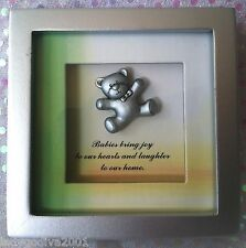 Shadow Box - 'Babies bring joy to our hearts and laughter to our home.'