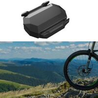 Waterproof Bike Bicycle ANT+ Wireless Bluetooth Speed Cadence Sensor For Garmin