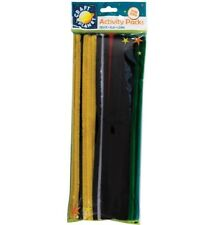 Docrafts Craft Planet Chenille Stems Pipe Cleaners 60 Pack Assorted Colours 30cm
