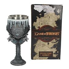Calice Originale Game of Thrones Deluxe Vino 190 ml Il Grande Inverno