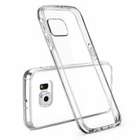CLEAR SLIM SHELL CASE TRANSPARENT COVER FOR SAMSUNG GALAXY S6
