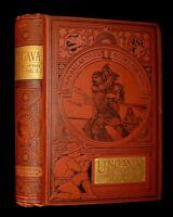 1894 Rare Victorian Book - UNGAVA A Tale of Esquimau Land by Robert Ballantyne