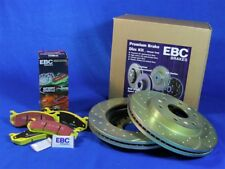Disc Brake Pad and Rotor Kit-Turbo Front EBC Brake S5KF1634 fits 1991 Toyota MR2