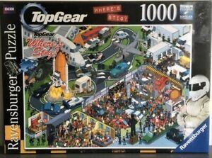 TOP GEAR Where's Stig 1000 Piece Ravensburger Jigsaw Puzzle BBC New & Sealed