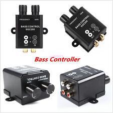 1x Car Home Remote Level Amplifier Subwoofer Equalizer Crossover Bass Controller