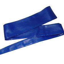 Cintura FUSCIACCA Donna blu elettrico FASCIA LARGA CINTURONE cinta art. D0285