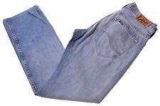 LEE Mens Jeans W31 L34 Blue Cotton Straight Clarke LA02