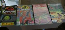 Topps Comics Jurassic Park lot of 4 comics VG+/FINE