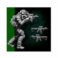 Scale 1/35 US Seal Attack Team Soldier Figure Resin YUFAN Model Kits YFWW35-1823