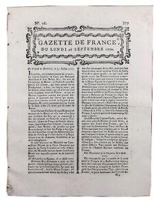 Chambonas en 1772 Inondation en Ardèche Neuilly Verberie Rhodes Grèce Égypte