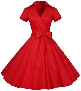 Rockabilly Damenkleider In Ubergrosse 50er Gunstig Kaufen Ebay