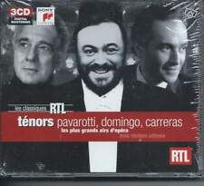 Ténors : Pavarotti, Domingo, Carreras 3 CD NEUF