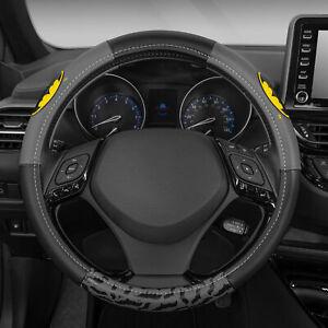 DC Comics Batman Velvet Leather Steering Wheel Cover Universal Size