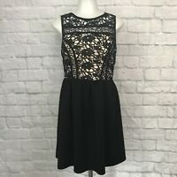 Xhilaration Small Dress Black Lace Sleeveless