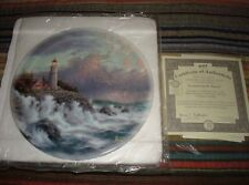 Retired-T. Kinkade 2001,Conquering Storms/Bradford Ex,1st Issue/Plate #Do339