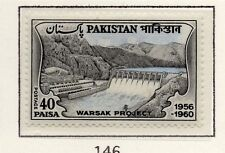Pakistan 1961 Early Issue Fine Mint Hinged 40p. 081436