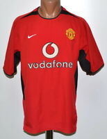 MANCHESTER UNITED 2002/2003/2004 HOME FOOTBALL SHIRT JERSEY NIKE SIZE M ADULT