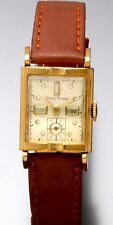 Delbana Watch Co. with 17-Jewel Hand Wind in Yellow Rolled Gold Plate Case