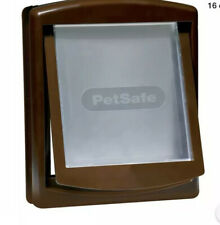 Brand New in Box Staywell Medium Dog Door/Flap in BROWN