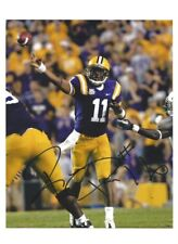 RYAN PERRILLOUX Signed/Autographed LSU TIGERS FOOTBALL 8x10 Photo w/COA