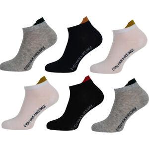 12-24 Paket Sneaker Socken Sport Freizeit Damen Herren Socken Baumwolle Socken