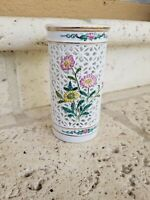 Vintage Hand Painted porcelain Vase Asian marked