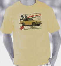 Austin Healey Sprite 1961-1970 Retro Brochure Style T-Shirt