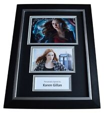 Karen Gillan Signed A4 FRAMED Autograph Photo Display Doctor Who TV AFTAL & COA