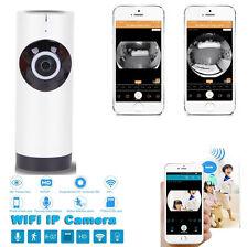 panorámico Vista Home Cámara Seguridad Inteligente WiFi Monitor Para TELÉFONOS