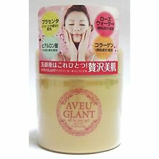 Aveu glant all in one gel 230g placenta hyaluronic acid collagen rose water