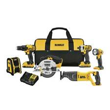 DeWALT DCK620D2 20-Volt 6-Tool Cordless Lithium-Ion Driver and Saw Combo Kit