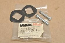 NOS Yamaha XS400 XJ550 SR250 Foot Peg Rest Washer, Clevis Pin & Cotter Mount Set