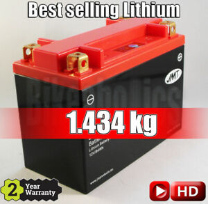 JMT Lithium Battery YTX20H - Indian Chief 1800 Classic ABS - 2014 - 2017