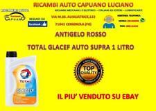 ANTIGELO ROSSO LIQUIDO REFRIGERANTE PURO TOTAL GLACELF AUTO SUPRA 1LT