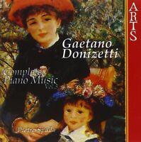 PIETRO SPADA - COMPLETE PIANO MUSIC 3  CD NEU DONIZETTI,GAETANO