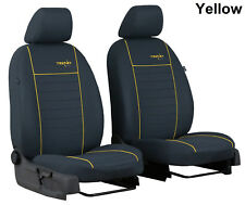 HONDA CIVIC Mk9 HATCHBACK 5 DOOR 12-17 FABRIC FRONT SEAT COVERS MADE TO MEASURE