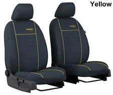 Hyundai Santa Fe Mk3 2012-2018 cubiertas de asiento de tela frente a medida hecho a la medida